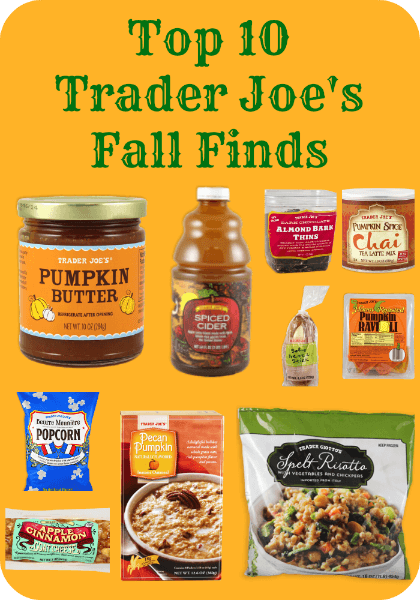 Top 10 Trader Joe's Fall Finds