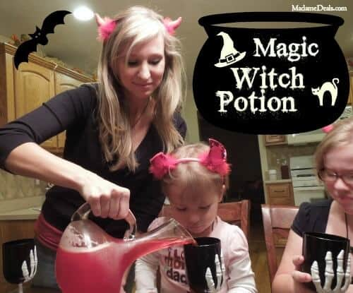 Halloween Recipe: Magic Witch Potion
