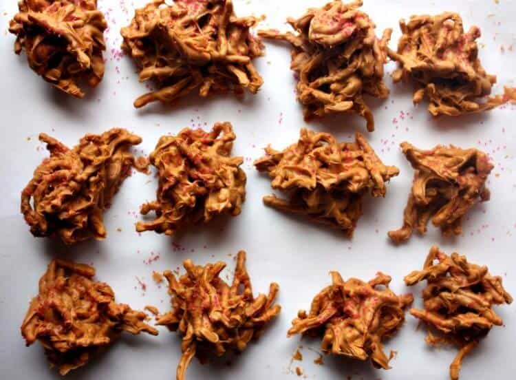 butterscotch hay stacks candy recipe