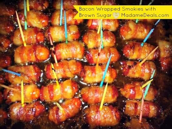 Bacon wrapper smokies