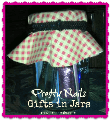 Gifts in Jars: Pretty Nails