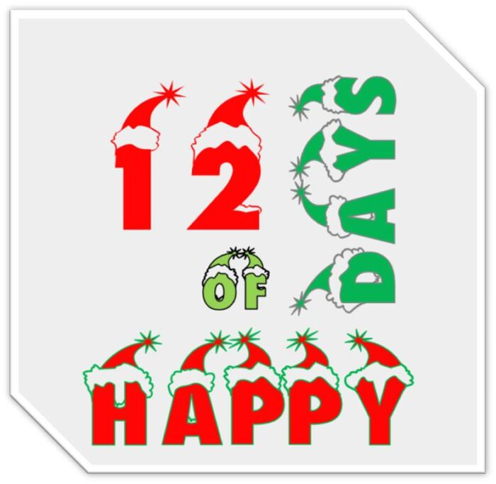 12 days of happy