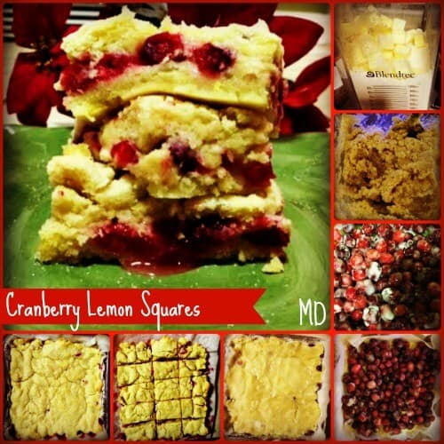 Cranberry-lemon-squares