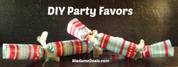 Easy DIY Party Favors