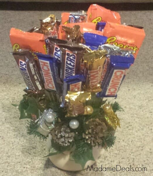 make your own candy bouquets christmas