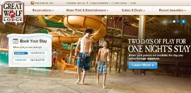 Great Wolf Lodge Sale Up to 25% Off