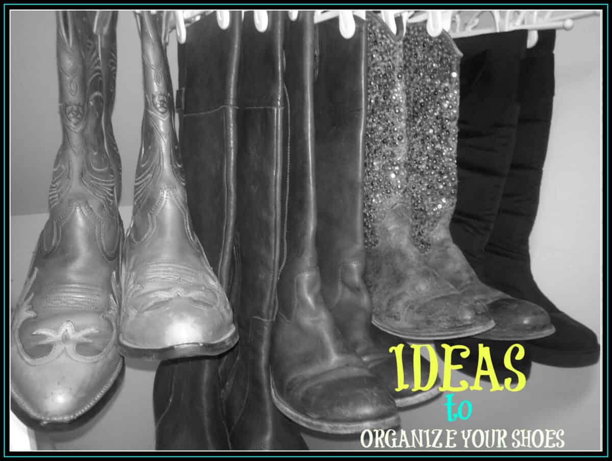 ideas to organize your shoes
