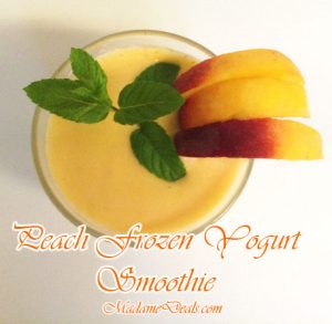 peach smoothie recipe
