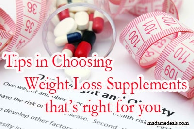 Save Money on Exercise Equipment: Diet Supplements Weight Loss