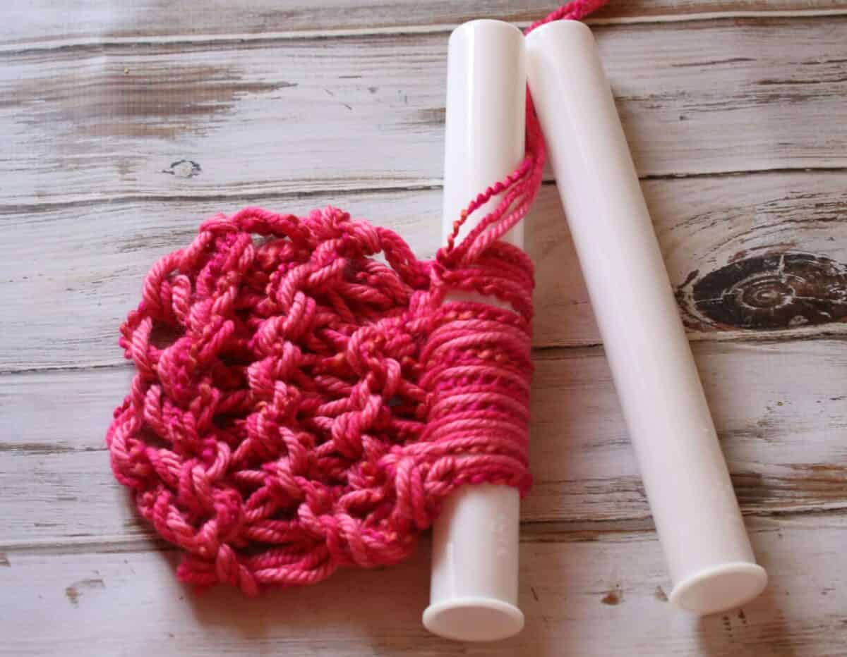 PVC Pipe Craft Projects: Easy Knit Scarf Patterns