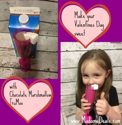 #TruMoo Chocolate Marshmallow Milk, Perfect for Valentines Day!