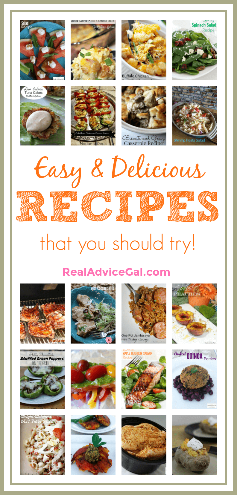 You have to try these delicious and easy recipes for your family. Make sure to save and pin these now!
