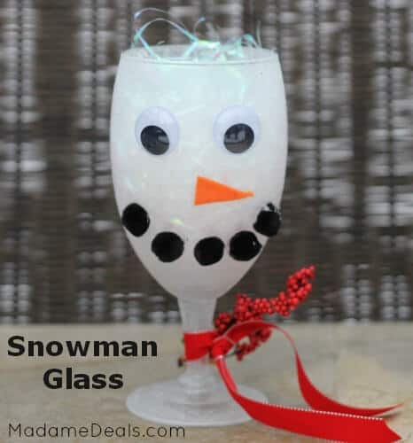 How to make a snowman craft