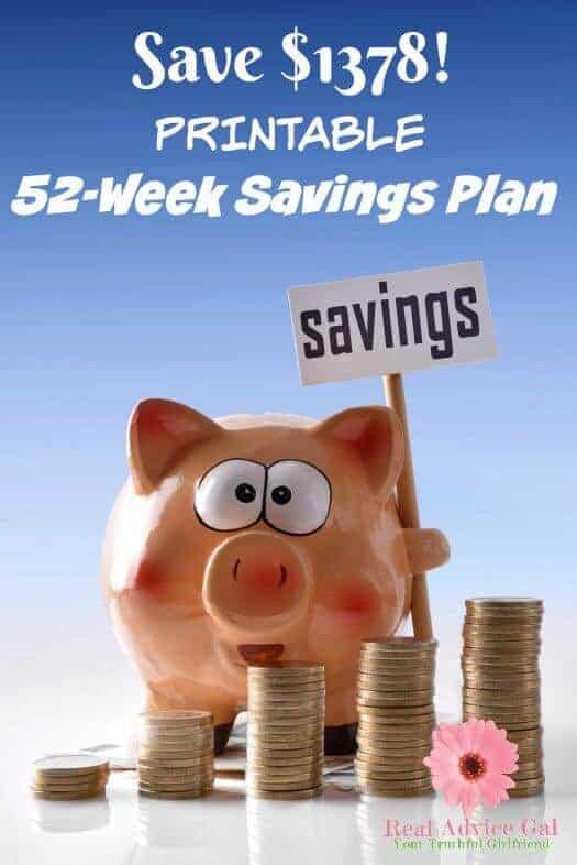 52 Week Savings Plan