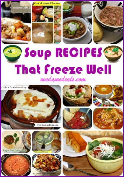 Save Money Groceries with Soups that Freeze Well