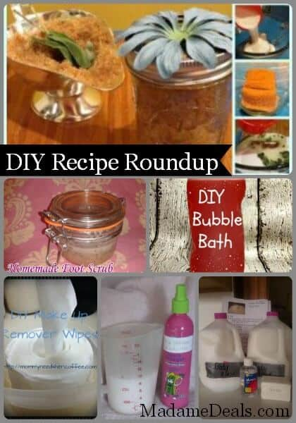 DIY Recipe Roundup