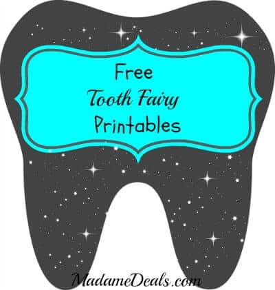 image about Printable Tooth identify No cost Printable Enamel Fairy Letters - True Information Gal