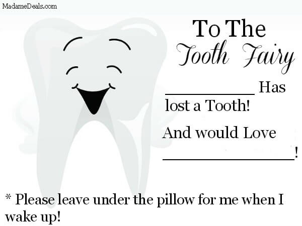 image relating to Tooth Fairy Letter Printable known as Cost-free Printable Teeth Fairy Letters - Genuine Information Gal