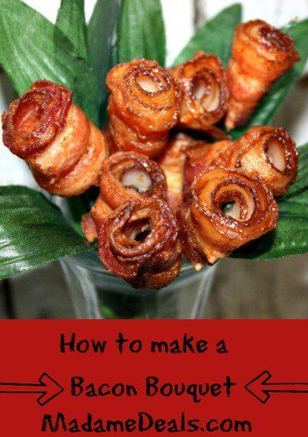 How to make a Bacon Bouquet