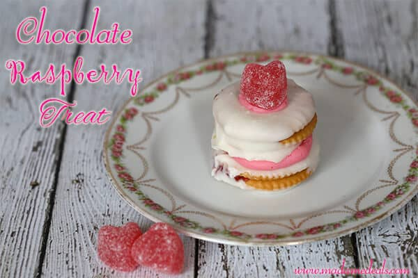 Valentine Recipes for Kids: White Chocolate Raspberry Treat