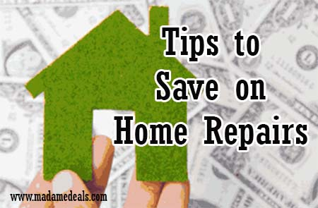save on home repairs