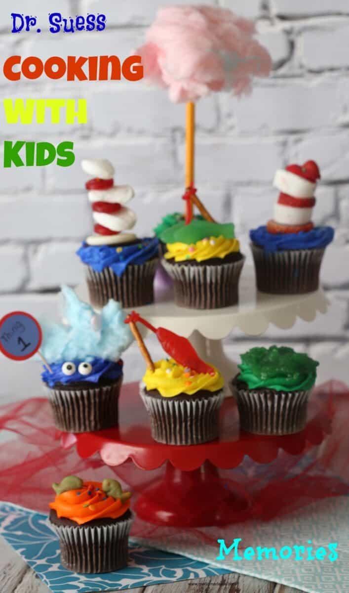 Dr Seuss Cupcakes