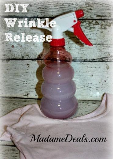 DIY Wrinkle Release