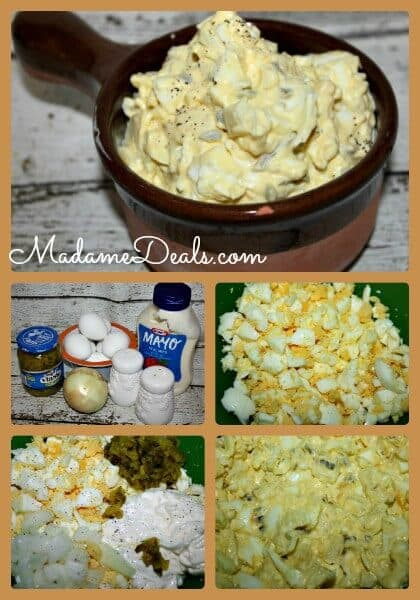 Easy Egg Salad Steps