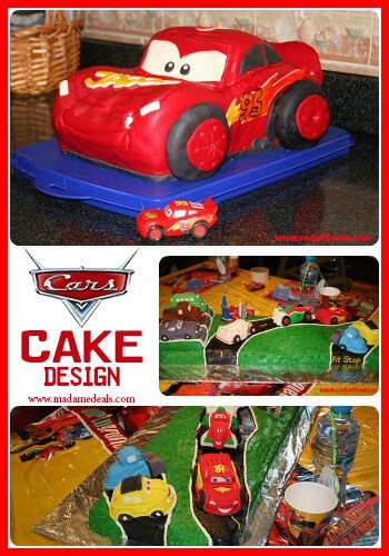 Fun Cake Designs: Cars Cake Decorating Ideas - Real Advice Gal