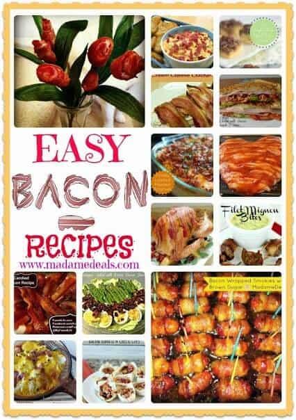easy bacon recipes