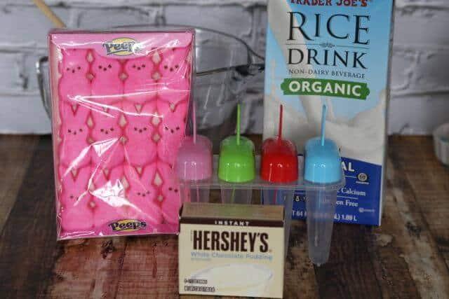 ingredients peeps jello pops