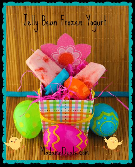 jelly bean frozen yogurt