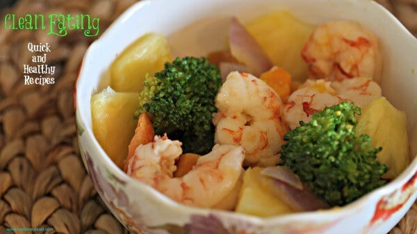 Advocare shrimp recipe
