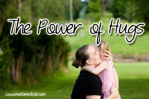 Karla's Korner: The Power of a Hug