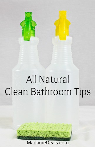 Clean bathroom tips