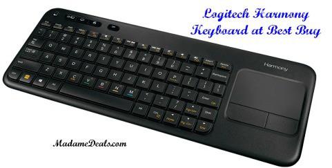 Logitech Keyboard front