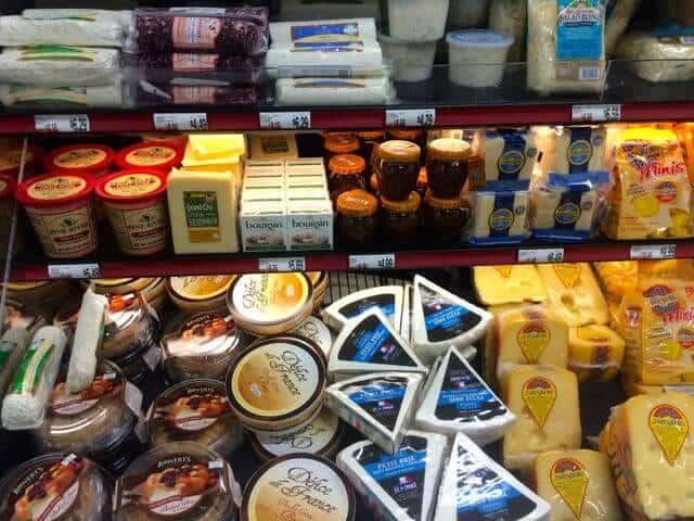 cheese aisle