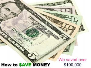 how to save up money