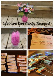 make your own candy bouquet