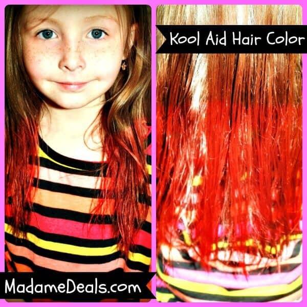 Kool Aid Hair Dye Recipe - Madame Deals