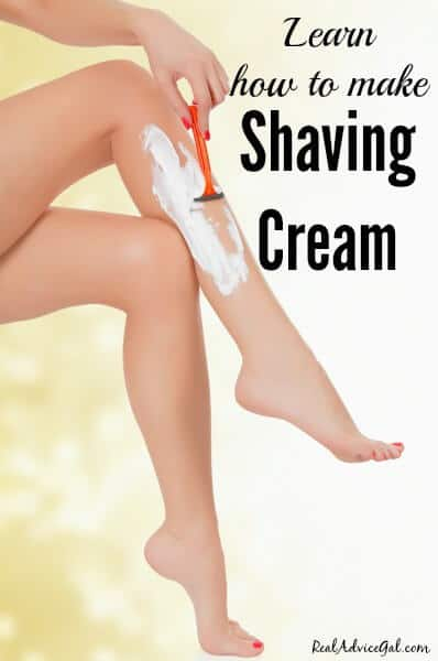 How to Make Homemade Shaving Cream