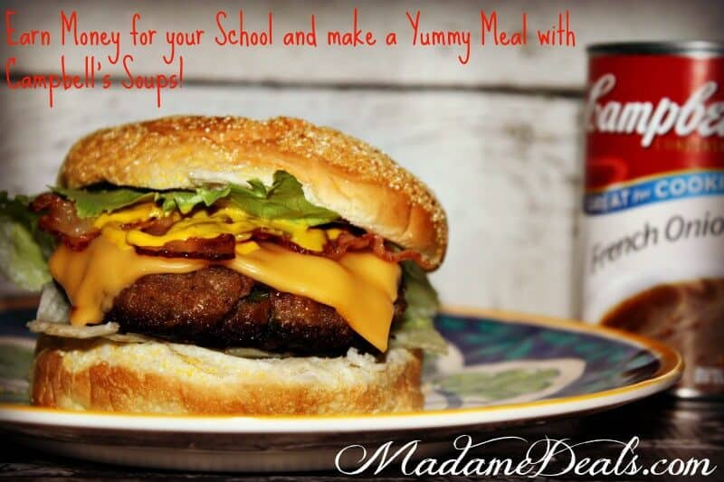 French Onion Burger Recipe Featuring Campbell's Soup
