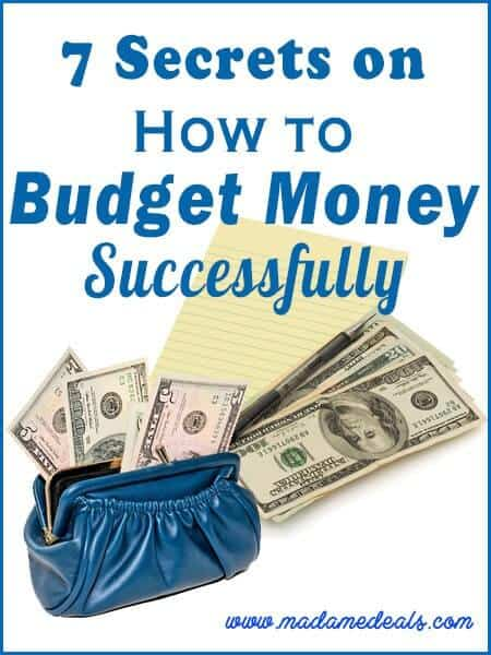 how to budget money