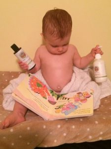 Baby Mantra Lotion and Massage Oil