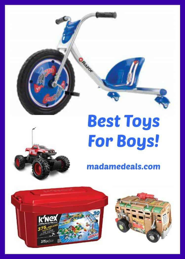 Popular Toys For Boys : Best toys for boys madame deals