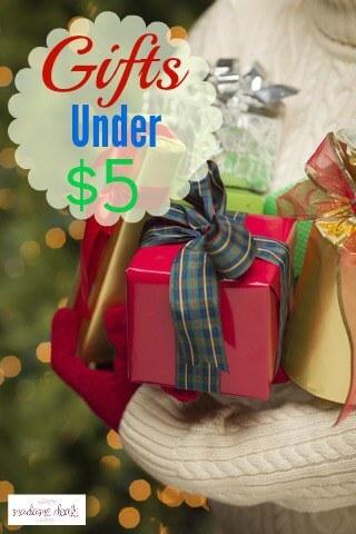 Gifts Under 5 Bucks
