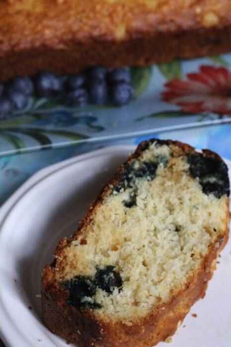 Blue berry pineapple loaf recipe