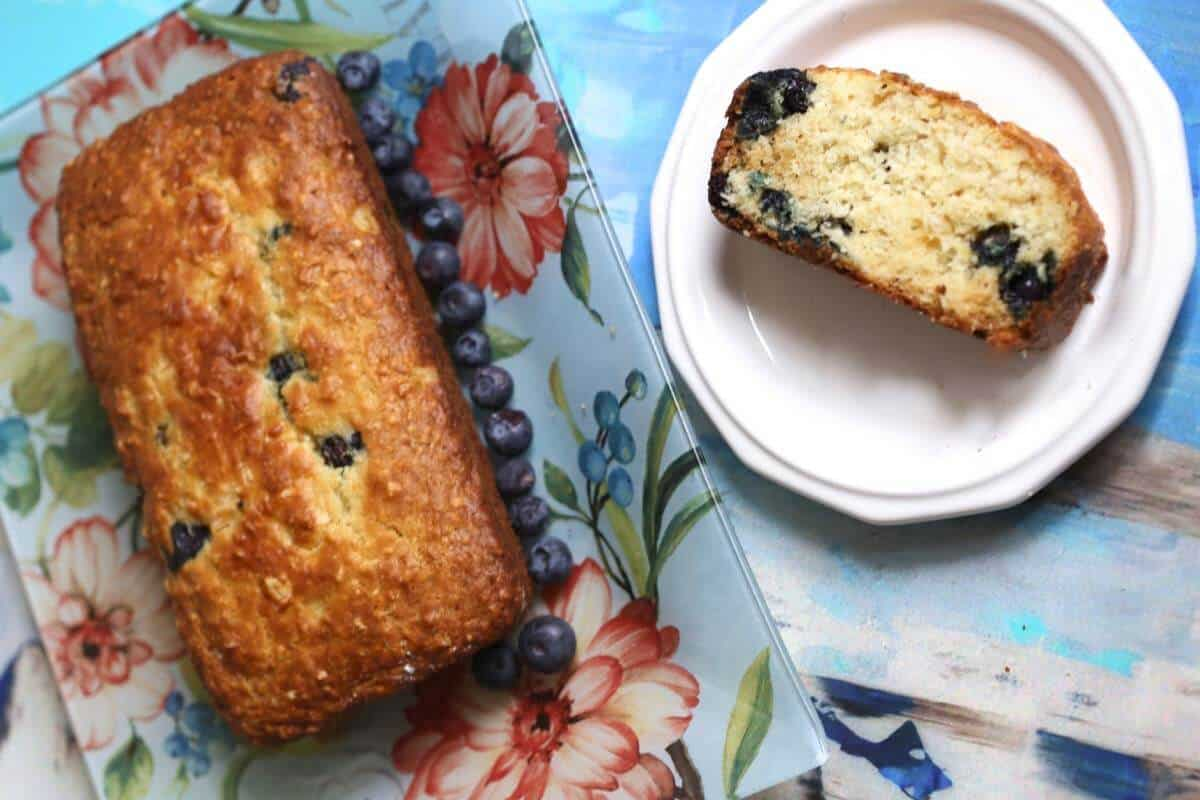blueberry pineapple loaf recipe