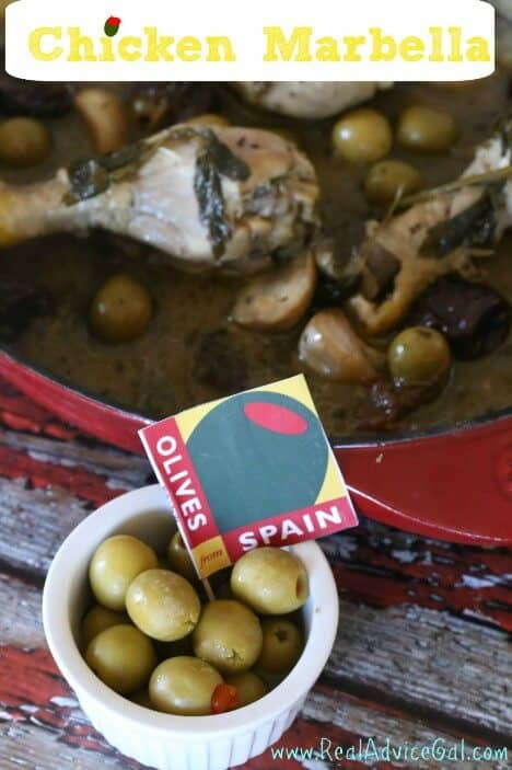Chicken Marbella Recipe with Olives