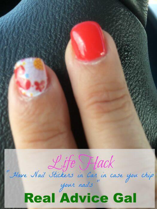 chipped nail repair